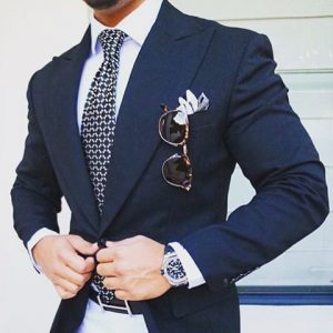 men's spring essentials, light color trousers, men's navy blazer and white pants