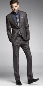 men's spring essentials, light or brighter color suits, men's dark gray suit striped tie