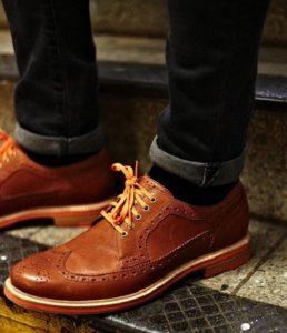 men's business casual shoes, camel oxfords