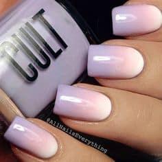 spring nail polish designs, ombre nail airt