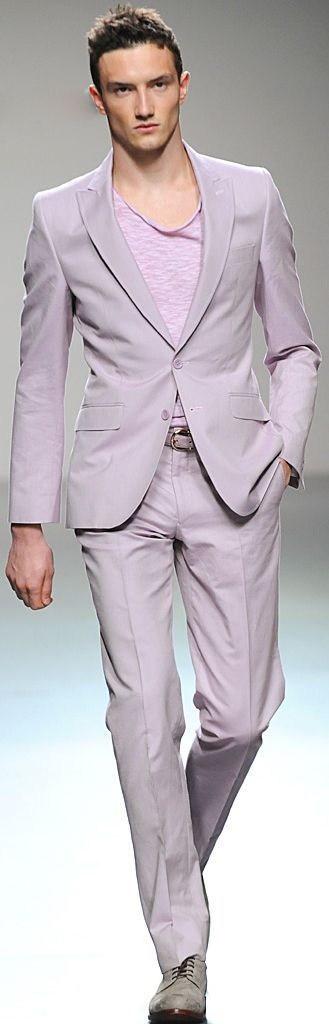 men's spring color suits, men's mauve suit