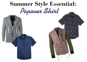 Men's Summer Style Essential Popover Shirts and blazers