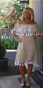 Summer Wardrobe Essentials, Boho Chic Tassel Sundress