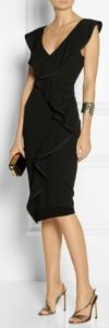 50 and stylish elegant evening outfit, update your LBD with design details