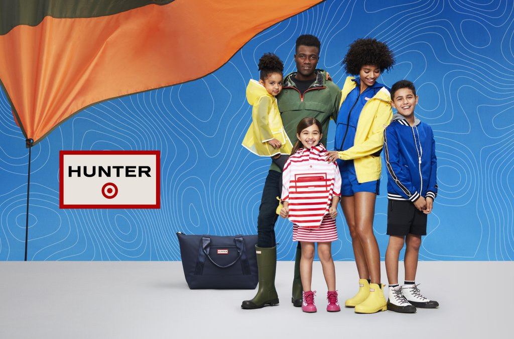 designer collaboration hunter x target