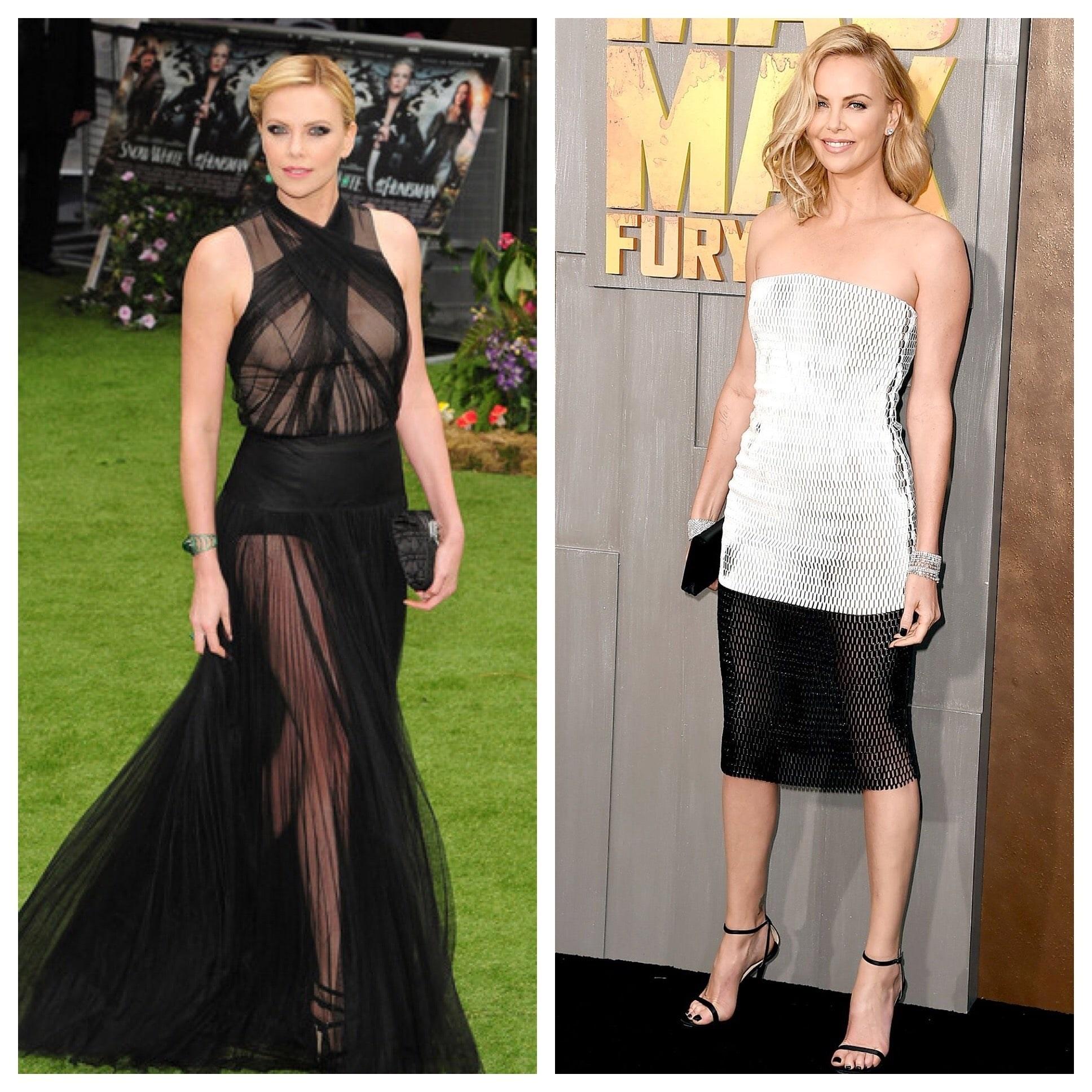 Celebrity Style Charlize Theron modern fashion-forward