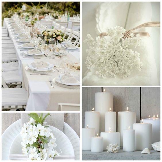 Dîner en Blanc decor, Dîner en Blanc decor, Dîner en Blanc candles, florals, table