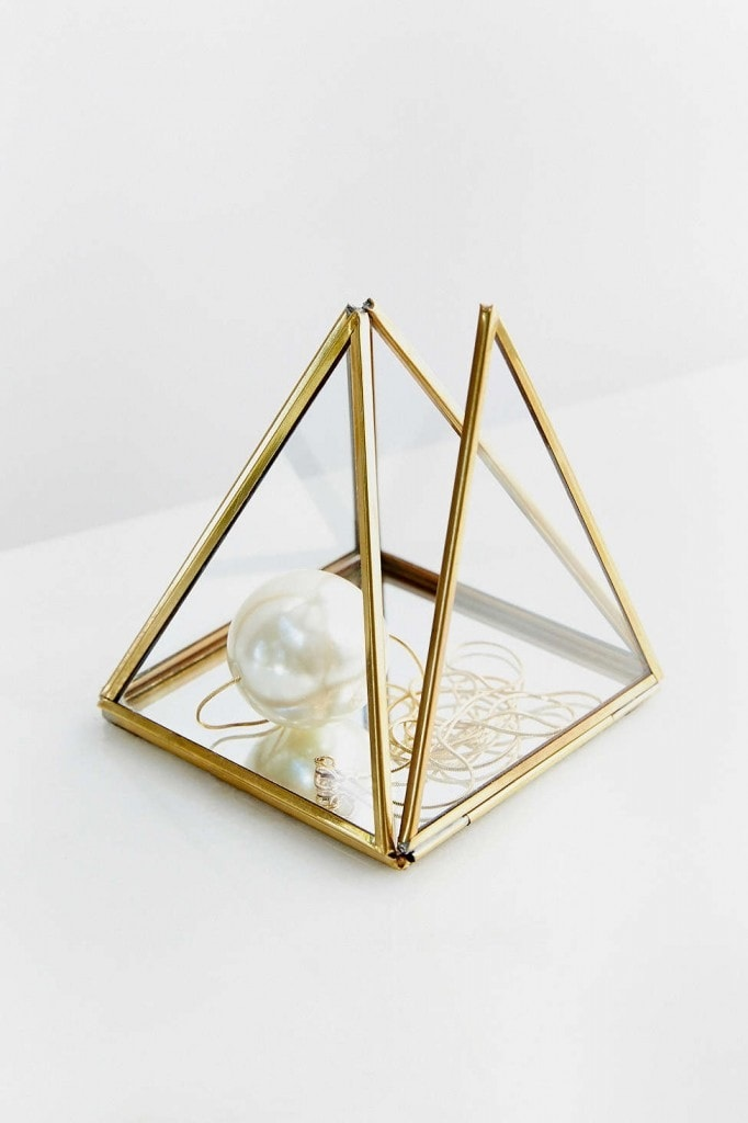 Jewelry Organization…Keep Your Jewels in Style, Magical Thinking Glass Jewelry Box Holder