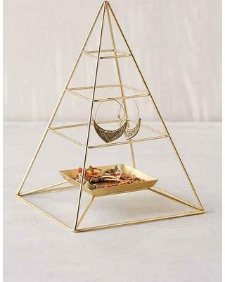 Jewelry Organization…Keep Your Jewels in Style, jewelry organizers, jewelry holders, magical-thinking-pyramid-jewelry-stand-bronze