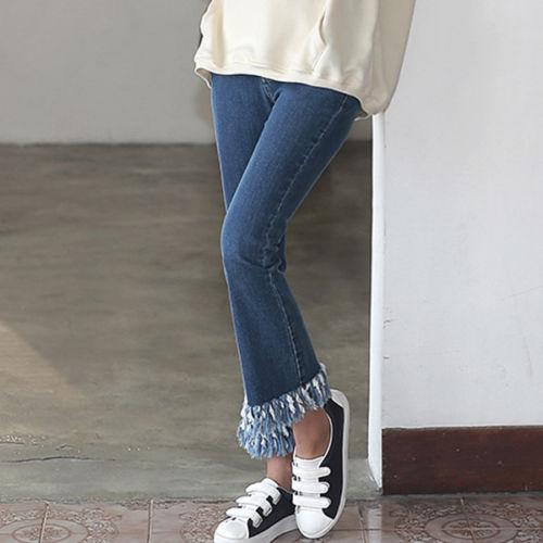 Fall's Hottest Denim Trends, tassel hem jeans