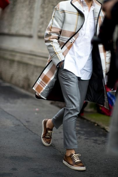 The Style Essentials for Men, stylish sneakers, men's leather sneakers
