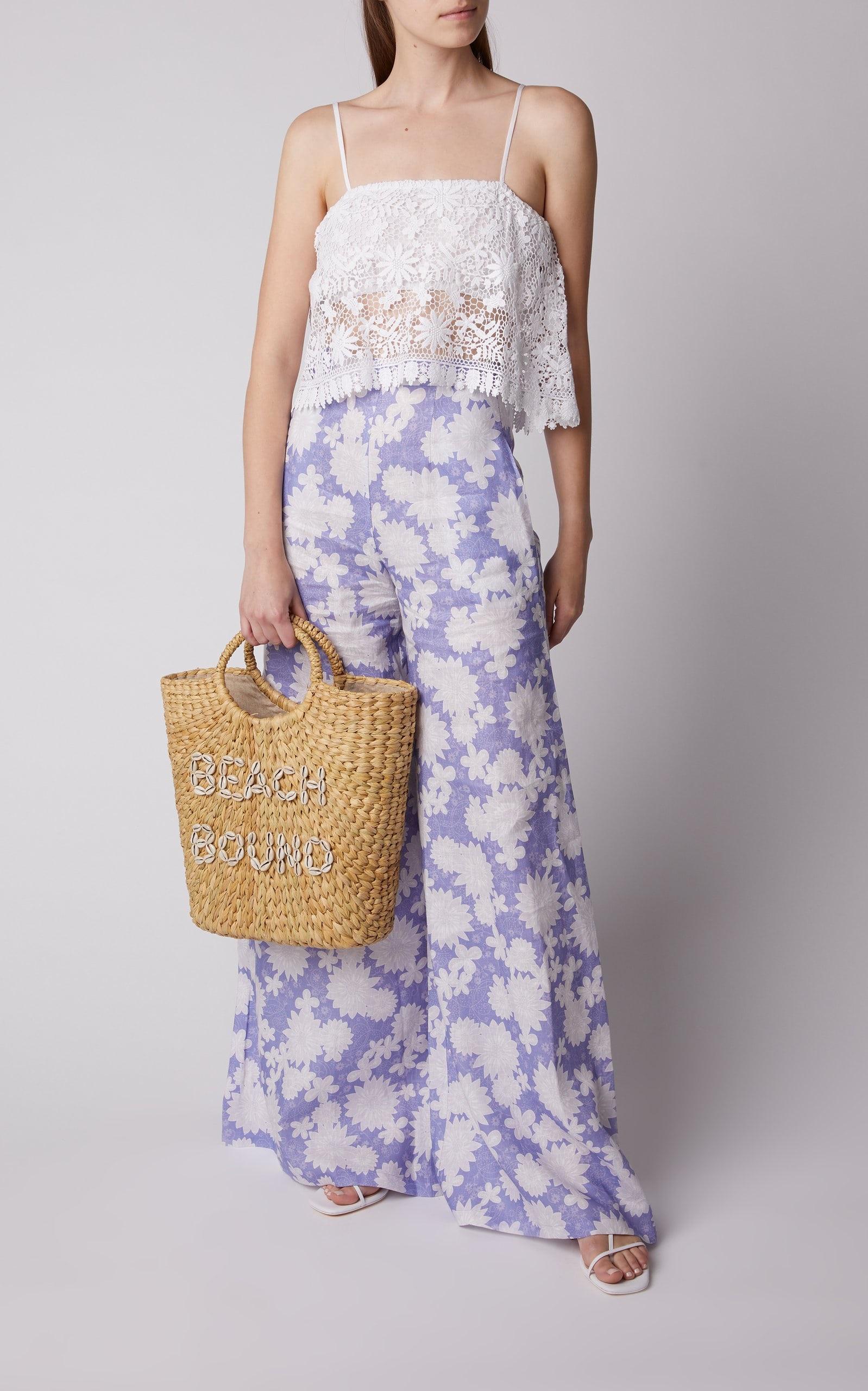Beach Bag Beauty Essentials, stylish beach bags, Poolside beach bound woven bag