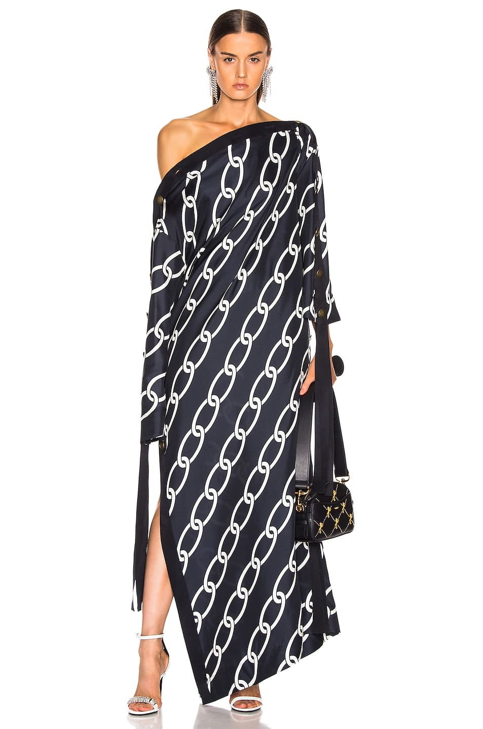 How to Make Bohemian Style Chic and Modern, caftans and kimonos, monse chain link caftan