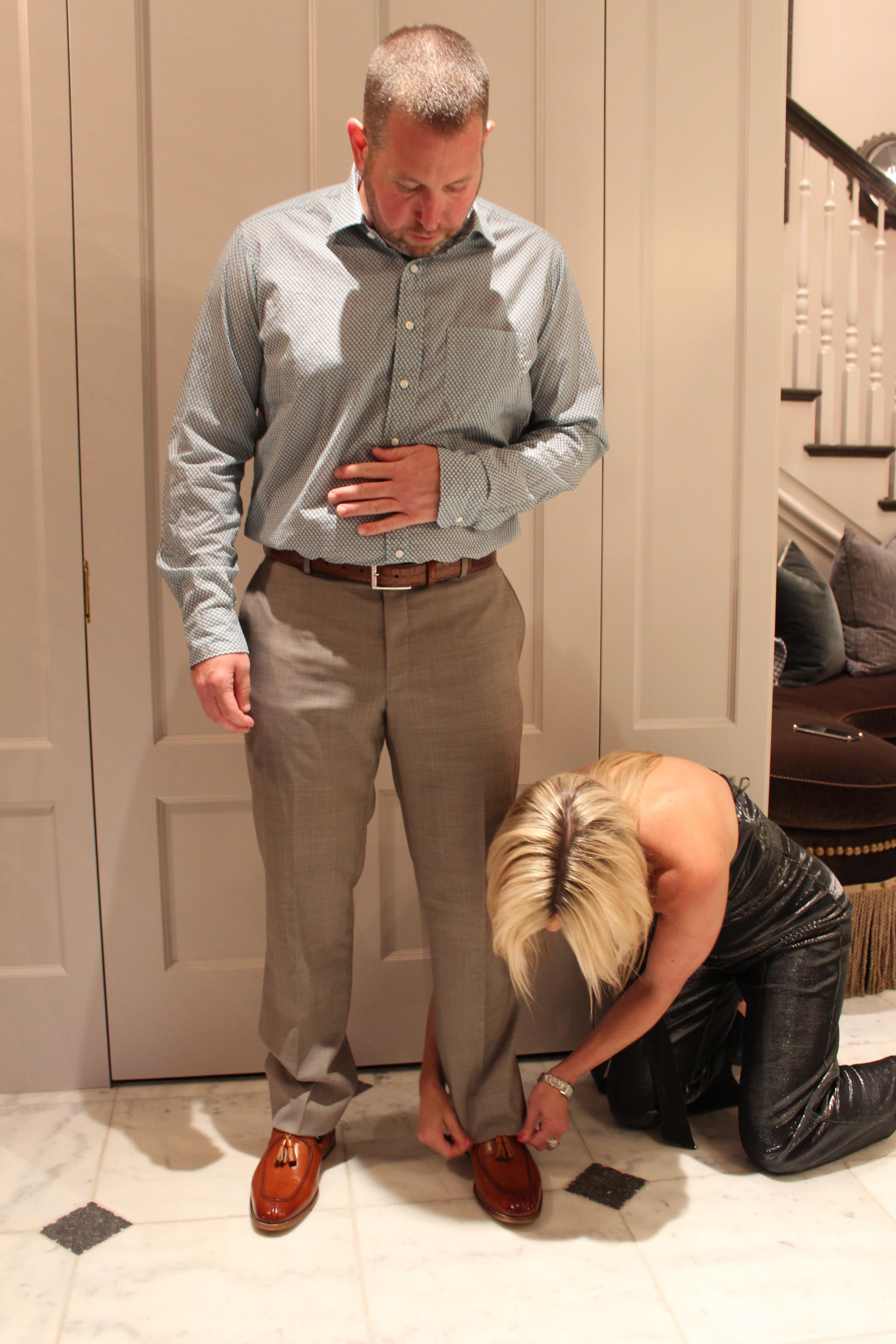 Men's Personal Shopping, Men's personal fitting, tailoring men's pants