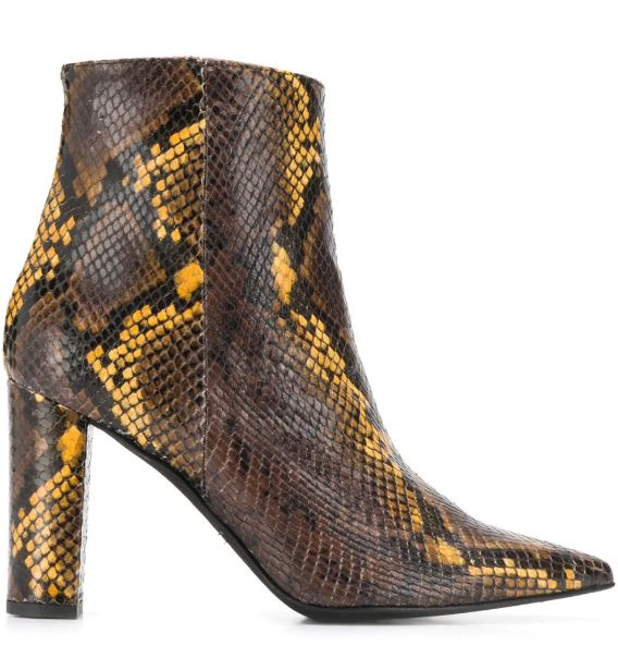 Fall Into Autumn Colors 2019, Marc Ellis snakeskin boots