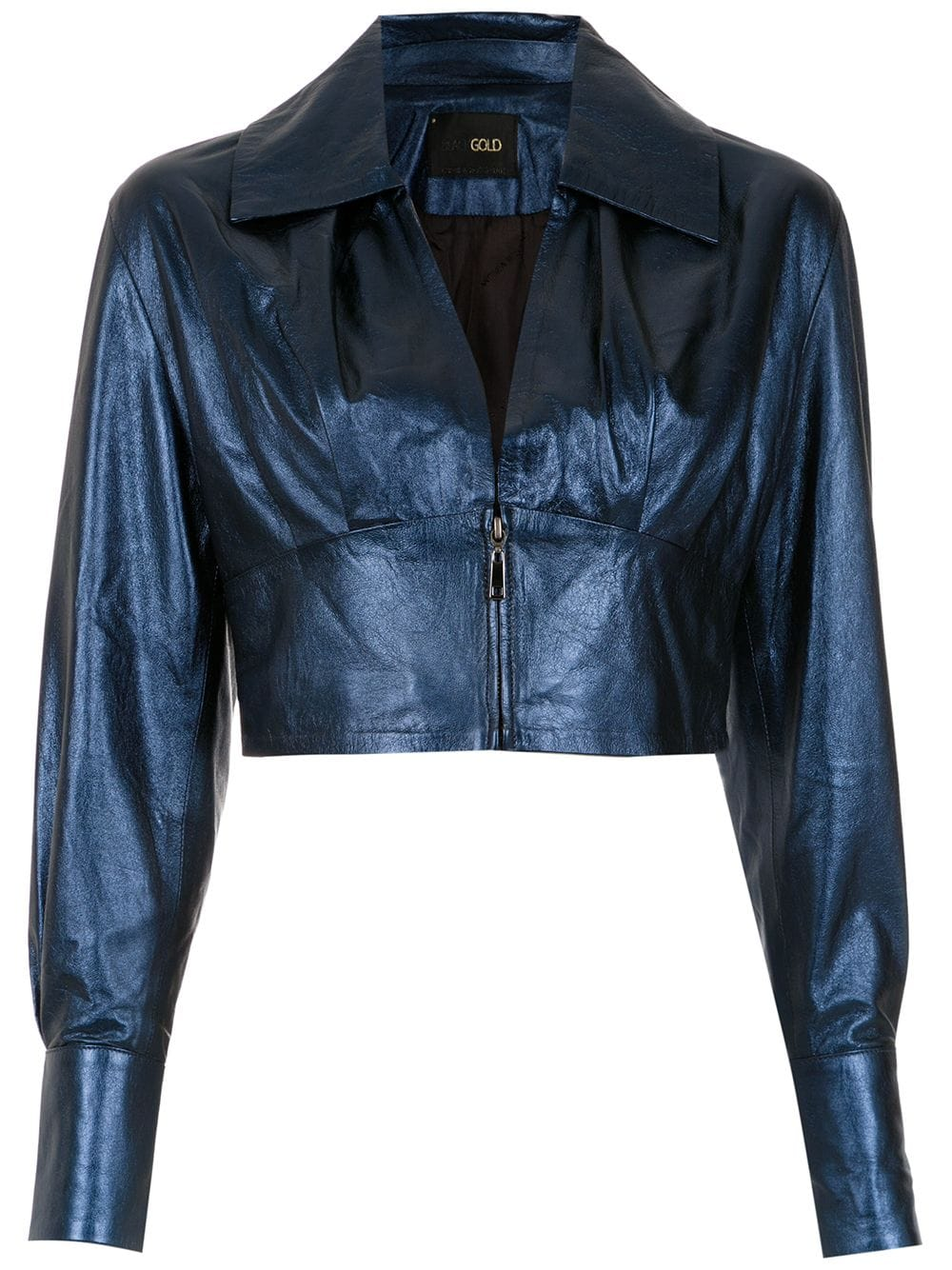 Fall Into Autumn 2019 colors, medium blue, blue depths, blue leather jacket