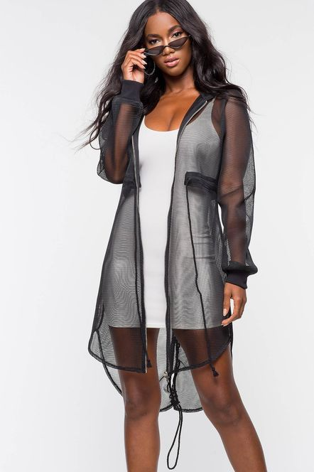 Ease Your Wardrobe Into Fall…Wear Now, Wear Later, eyelet top, mesh overlay