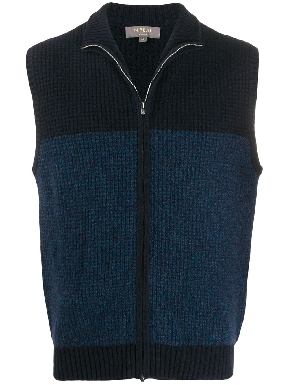 How to Layer for Fall, N. Peal zipped knitted waistcoat vest