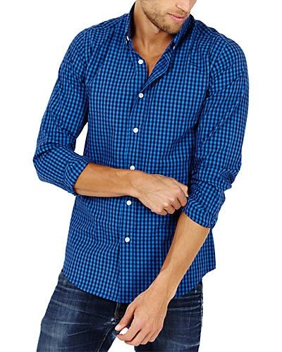 Jewel Tones for the Holidays, jewel tone shirt, men's blue button up, St. Lynn Grayson Button Up Shirt