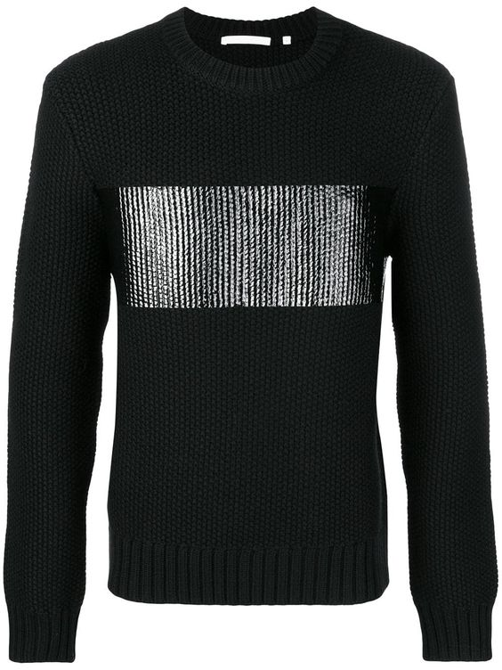 Winter Chic Getaways, Stylish Looks for Holiday Travel, men's skiing and moutain resort outfit, men's Helmut Lang black sweater with silver
