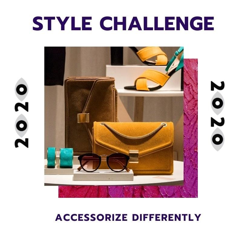 New Year Style Challenge, accessorizing, women's accessories, personal style challenge