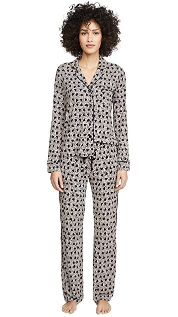 It's A Date: Flirty Looks + Gifts for Valentine's Day, Valentine's Day Gifts for Her, PJ Salvage Heart to Heart Pajama Set