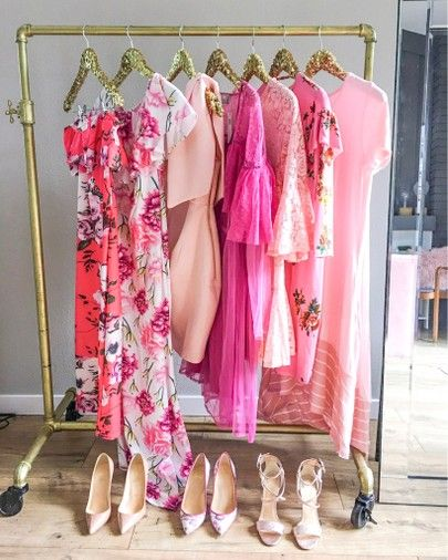 Summer Closet Clean Out +  Wardrobe Essentials, summer sundresses, organize closet, organize dresses