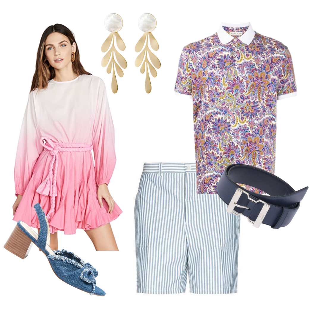Sunny and Stylish Labor Day Outfits, Al Fresco Flair (Backyard BBQ) outfits