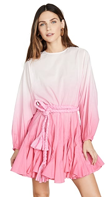 Sunny and Stylish Labor Day Weekend Outfits, Rhode Ella Dress pink ombre