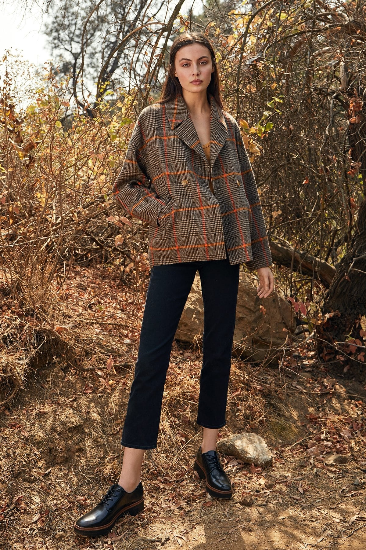 Power Outerwear...Cool Coats for Cool Days, plaid coats, women's plaid coat, Velvet by Graham and Spencer rhona plaid coat