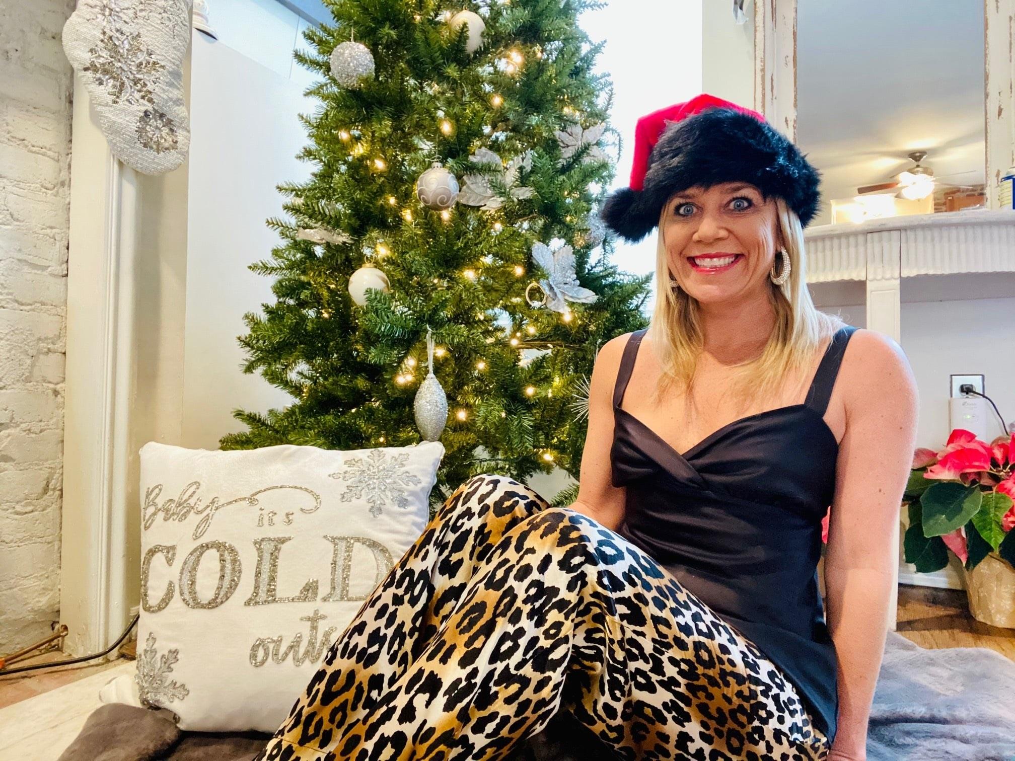 Cozy Christmas Pajamas, Divine Style, personal stylist, Kelley Kirchberg holiday pajamas