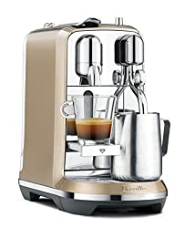 Divine Style Amazon Picks for Kitchen, Breville Nespresso Creatista Single Serve Espresso Machine Champagne
