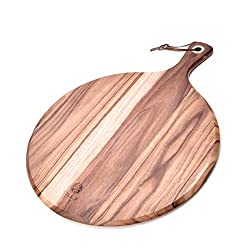 Divine Style Amazon Picks for kitchen, Acacia Wood Pizza Cutting Board