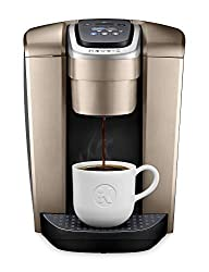 Divine Style Amazon Picks for kitchen, Keurig Single Serve K-Cup Brewer with Iced Coffee Capability, brushed gold
