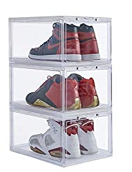 Divine Style Amazon organization/closet products, Clear Sneaker Shoe Box Storage