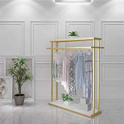 Divine Style Amazon organization/closet products, gold clothing rack