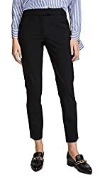 Divine Style Amazon women's, Veronica Beard Slim Cigarette Pants black