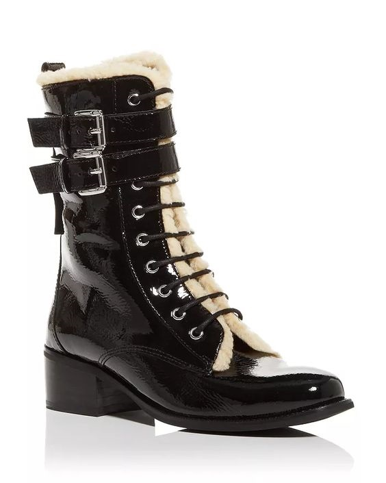 Winter Snow Day Style...What to Wear in Chilly Temps, booted in style, Women's Serena Block Heel Boots