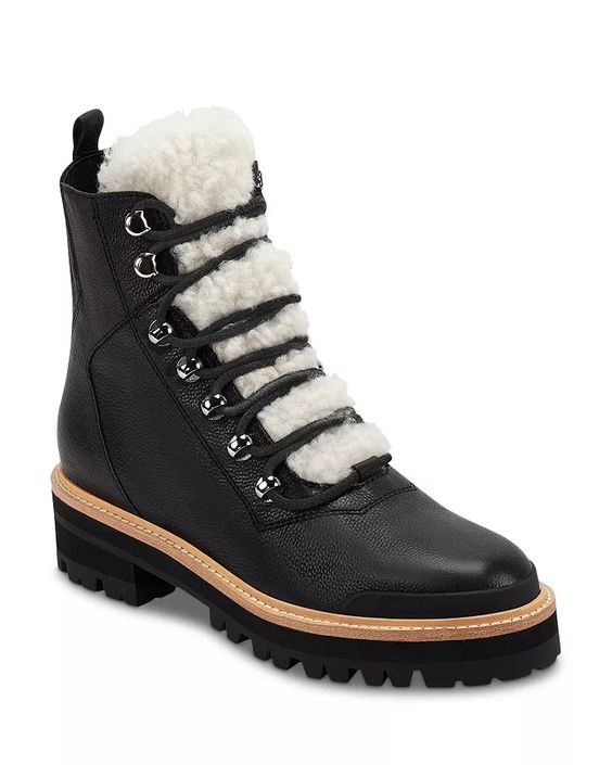 Winter Snow Day Style...What to Wear in Chilly Temps, booted in style, Marc Fisher LTD Izzie Cold Weather black winter Boots
