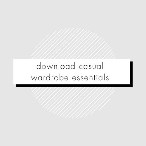 Casual Wardrobe Essentials