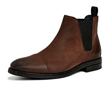 Winter Snow Day Style...What to Wear in Chilly Temps, booted in style, men's Cole Haan Wagner Chelsea boots in java