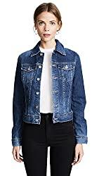 Divine Style Amazon women's spring fashion, AG jean jacket