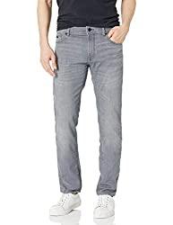 Divine Style Amazon men's spring fashion, Hugo Boss Men's Jeans stonewash gray regular fit