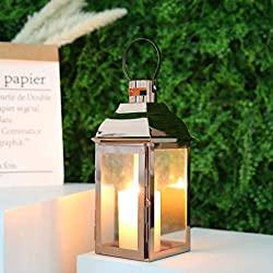 Divine Style Amazon home decor, Rose Gold lanterns