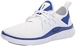 Divine Style Amazon men's spring fashion, Nike Men's Acalme Sneaker white/black/hyper blue