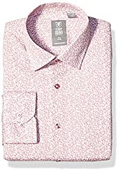 Divine Style Amazon men's spring fashion, STACY ADAMS Men's Contemporary Modern Fit Dress Shirt pink floral