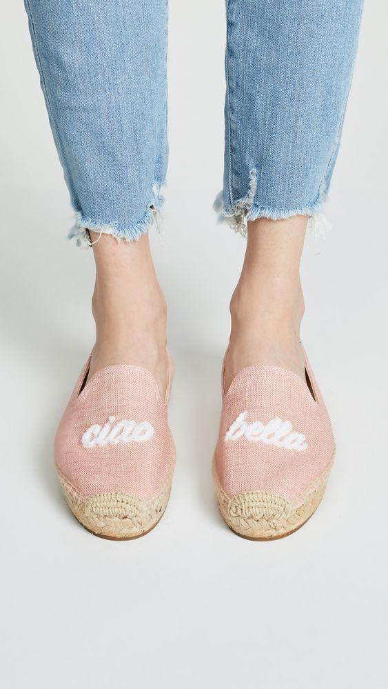 Divine Style Amazon women's spring fashion, Soludos ciao bella smoking slippers