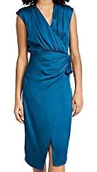 Divine Style Amazon women's spring fashion, Veronica Beard cerulean dress