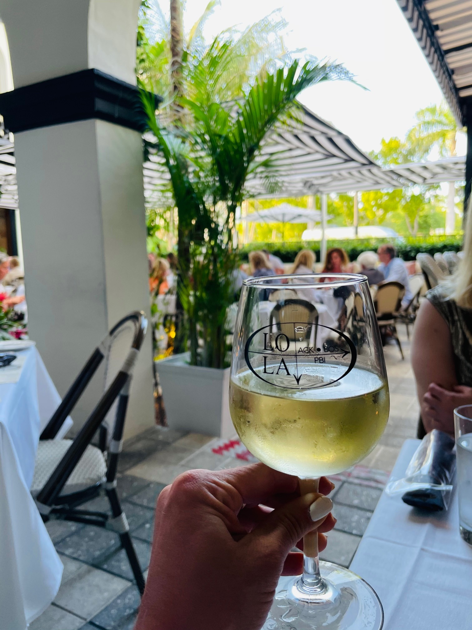 wining and dining in Palm Beach, Florida, Lola 41 restaurant
