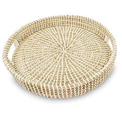 Divine Style Amazon Picks for kitchen, Ann Lee Design Round Serving Seagrass Trays
